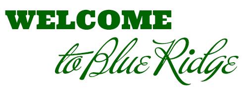 Welcome to Blue Ridge